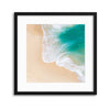 Licking the Shore Framed Print - UH