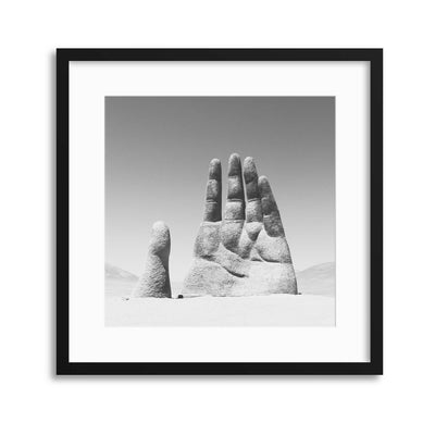 Give Me Your Hand Framed Print - UH