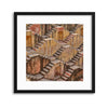 Temple Steps Framed Print - UH