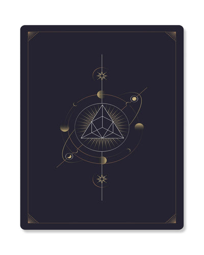 Astronomy Playing Cards Series I Framed Print - USTAD HOME