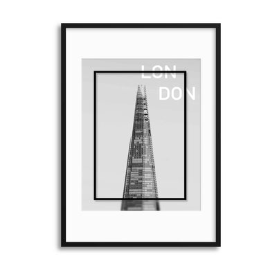 The Shard, London Framed Print - UH