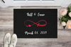 "Love & Forever""MR and MRS""Personalized Doormat - UH"
