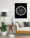 "Powerful ""CHRIST"" Canvas Print - USTAD HOME"