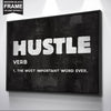 "Inspiring ""Hustle"" Canvas - UH"