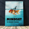 "Powerful ""Mindset Is Everything"" Canvas - UH"