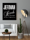 "Amazing ""Jefovah Fireh"" Canvas Print - USTAD HOME"