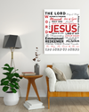 "Excellent 'JESUS"" Canvas Print - USTAD HOME"