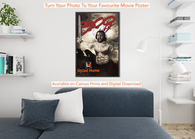 Personalised your Photo to favourite Movie Poster - UH