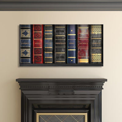 "Fascinating ""Shelf To Success"" Exclusive Canvas - UH"