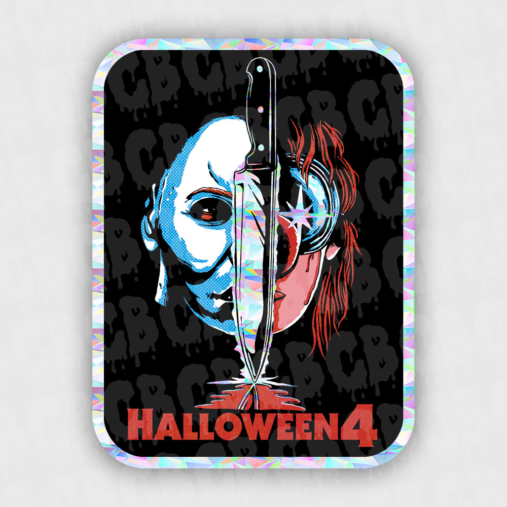 Halloween 4  - Prismatic Stickers