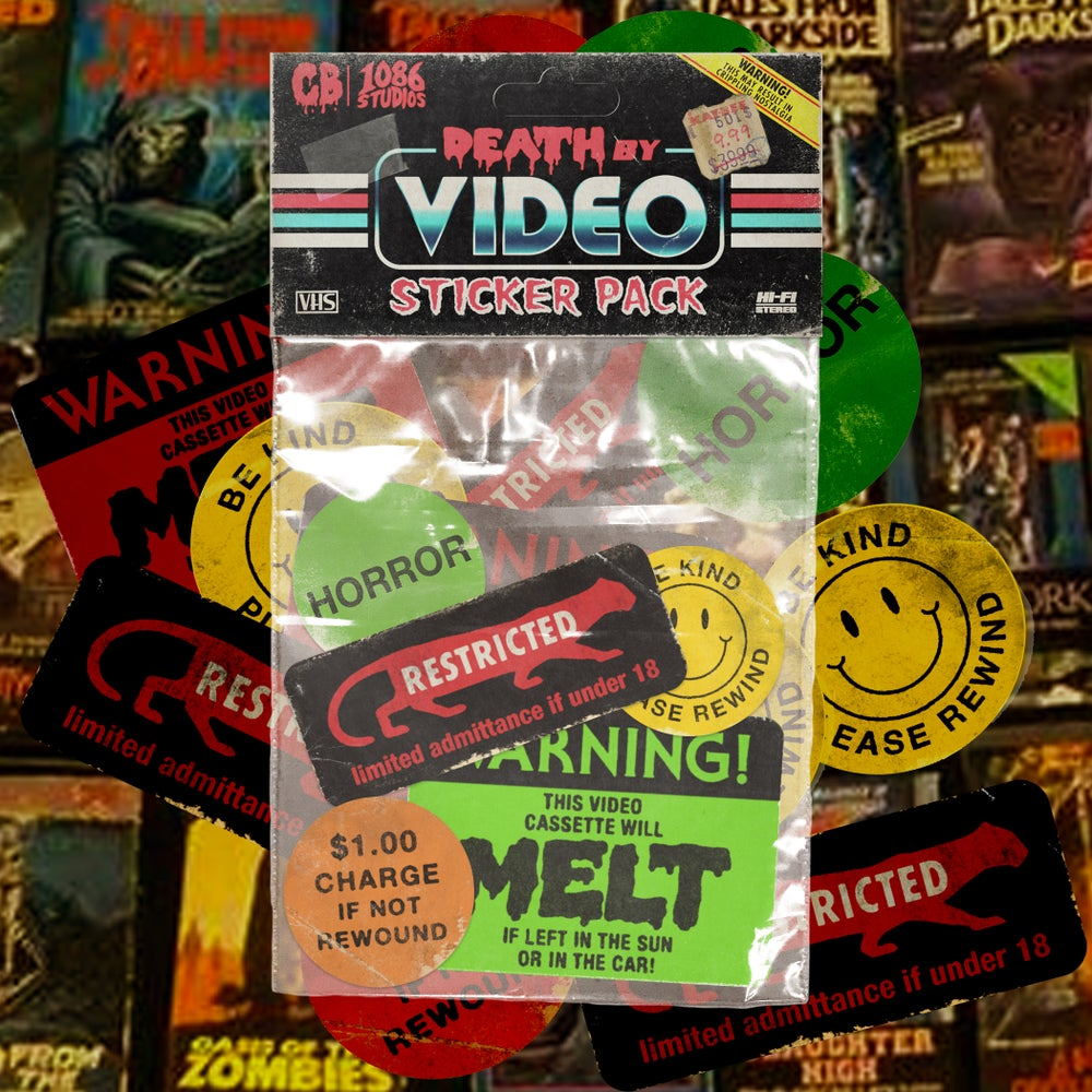 Death By Video Sticker Pack
