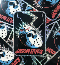 Load image into Gallery viewer, Jason Lives! Prismatic Sticker