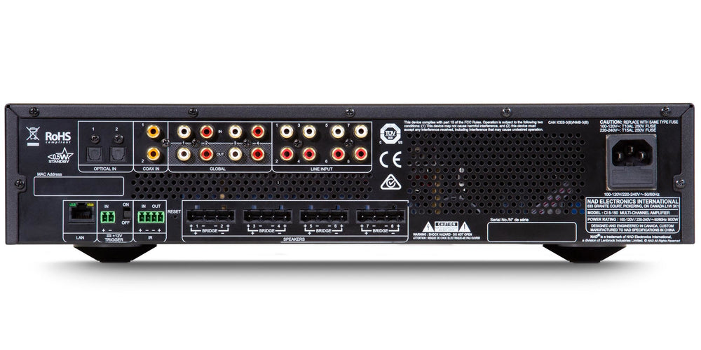 NAD CI 8-150 DSP AMPLIFIER