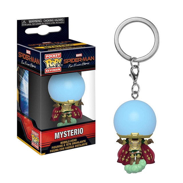 POP! Keychain Spider Man - Mysterio