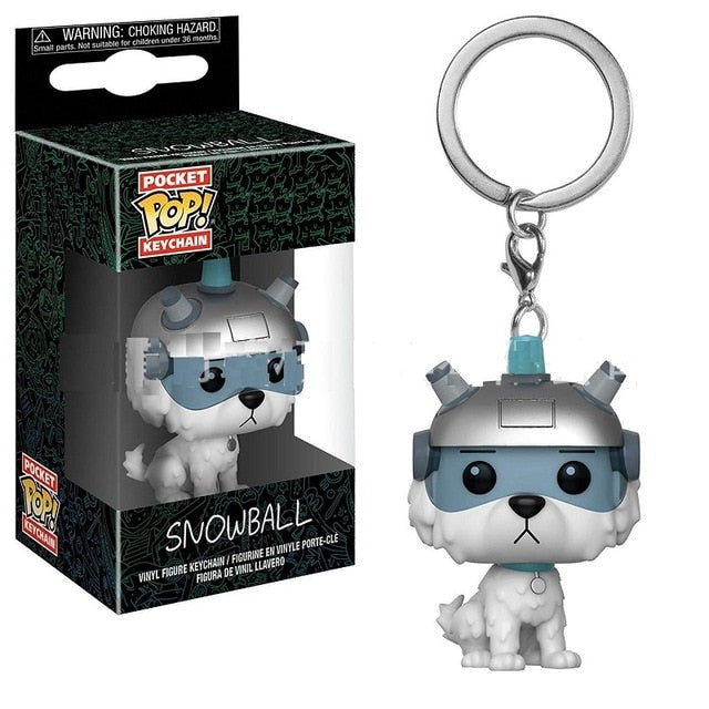 POP! Keychain Rick And Morty -Snowball