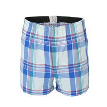 将图片加载到图库查看器,5Pcs/lot Boxer Men Thin Summer Underwear Cotton Man Big Size Short Breathable Plaid Flexible Shorts Boxer Male Underpants