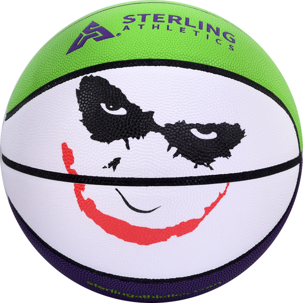 Sterling Athletics Impact™ Composite Leather Indoor/Outdoor Game Basketball - Joker