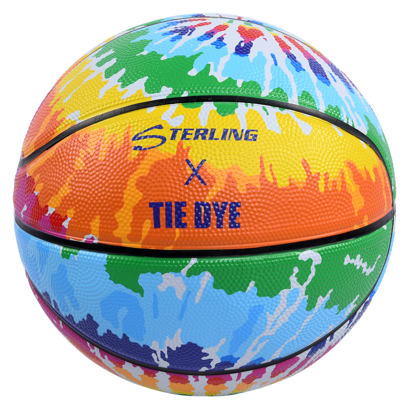 Sterling Athletics Tie Dye Superior Grip Indoor/Outdoor Basketball