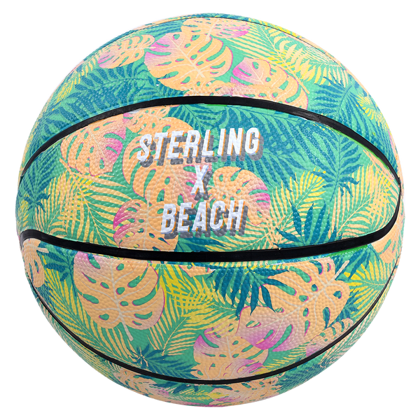 Sterling Athletics Tropical Beach Superior Grip Indoor/Outdoor Basketball