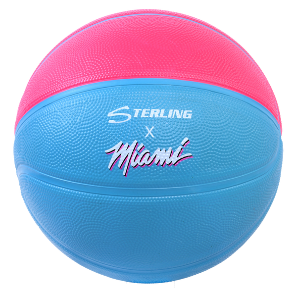 Sterling Athletics Miami Vice Superior Grip Indoor/Outdoor Basketball