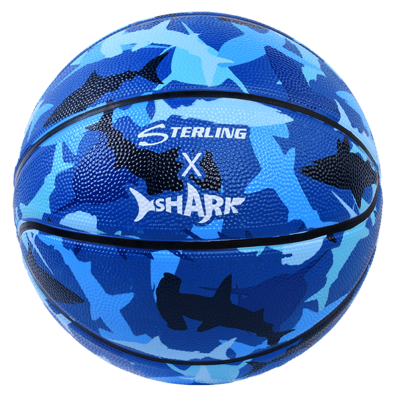 Sterling Athletics Shark Camo Superior Grip Indoor/Outdoor Basketball