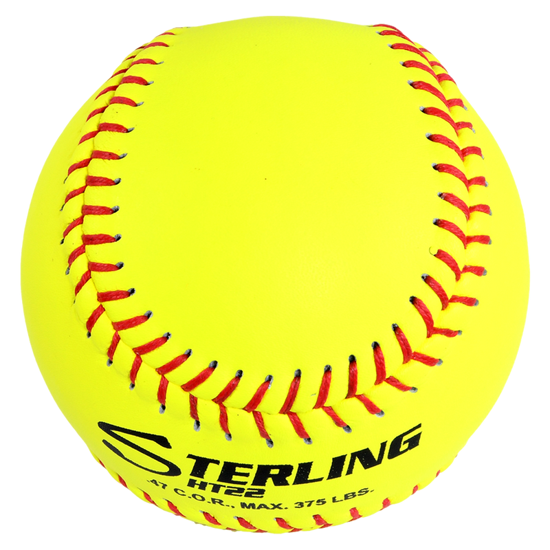 Sterling Athletics HT22 Fastpitch Game Leather Softball (NFHS)