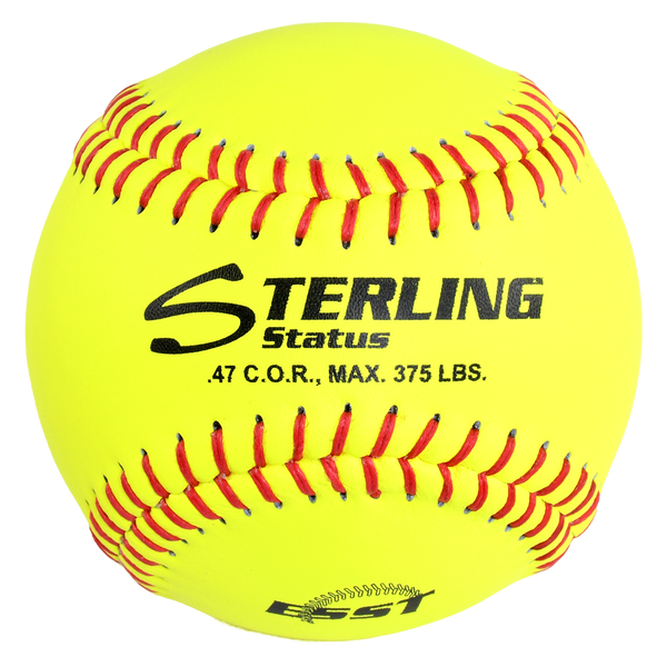 Sterling Athletics ST47375RFP11 Club Fastpitch Game Leather Softball (11″)