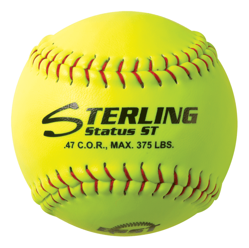 Sterling Athletics Status ST Fastpitch Synthetic Leather Practice Softball