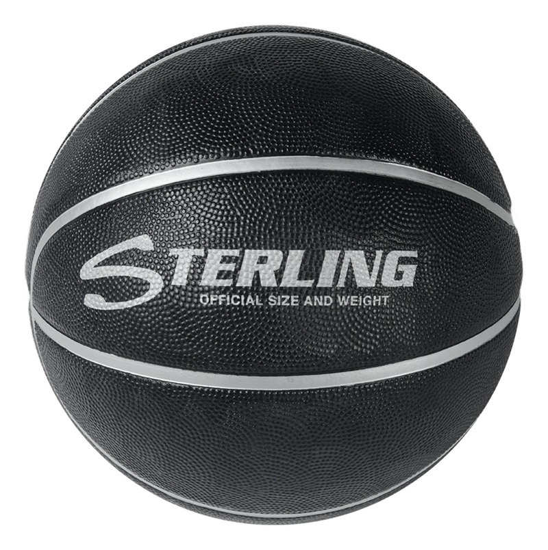Sterling Premium Black Superior Grip Indoor/Outdoor Basketball