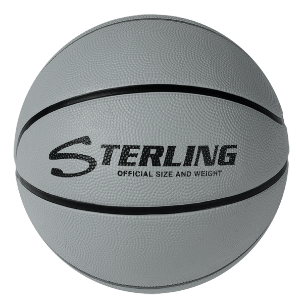Sterling Premium Grey Superior Grip Indoor/Outdoor Basketball