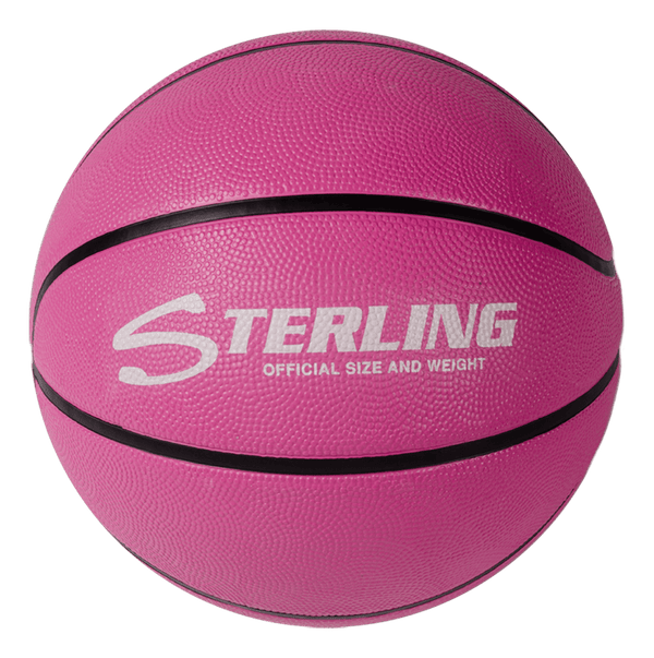 Sterling Premium Pink Superior Grip Indoor/Outdoor Basketball