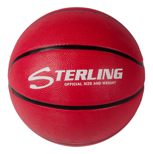 Sterling Premium Red Superior Grip Indoor/Outdoor Basketball