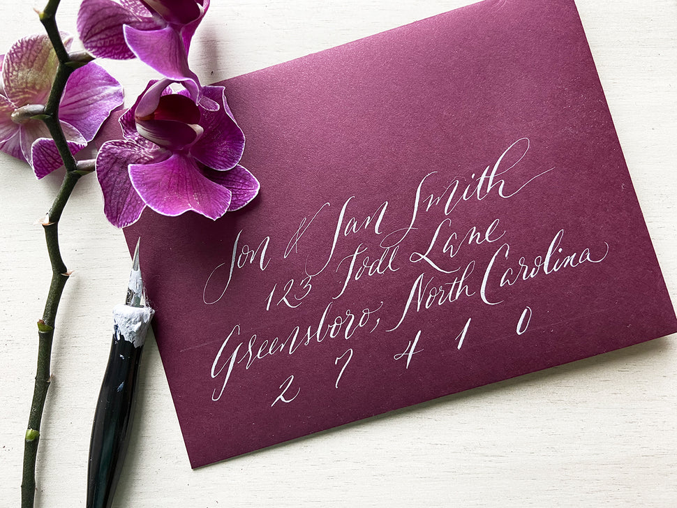 If So Inklined Calligraphy