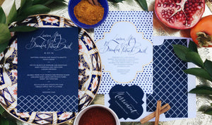 We offer many custom wedding invitation designs hand crafted in calligraphy to compliment your event. If So Inklined con design both modern and traditional style calligraphy in an array of colors and sizes. We even offer beginner calligraphy classes.