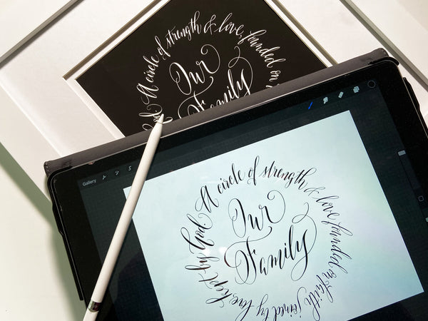 IPAD Calligraphy for Beginners - Live Online Class