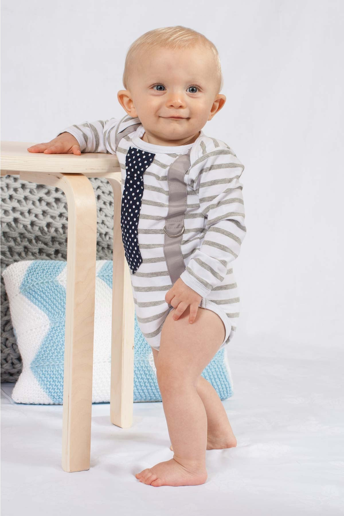 Buttons Boutique Babywear Business Suit Onesie