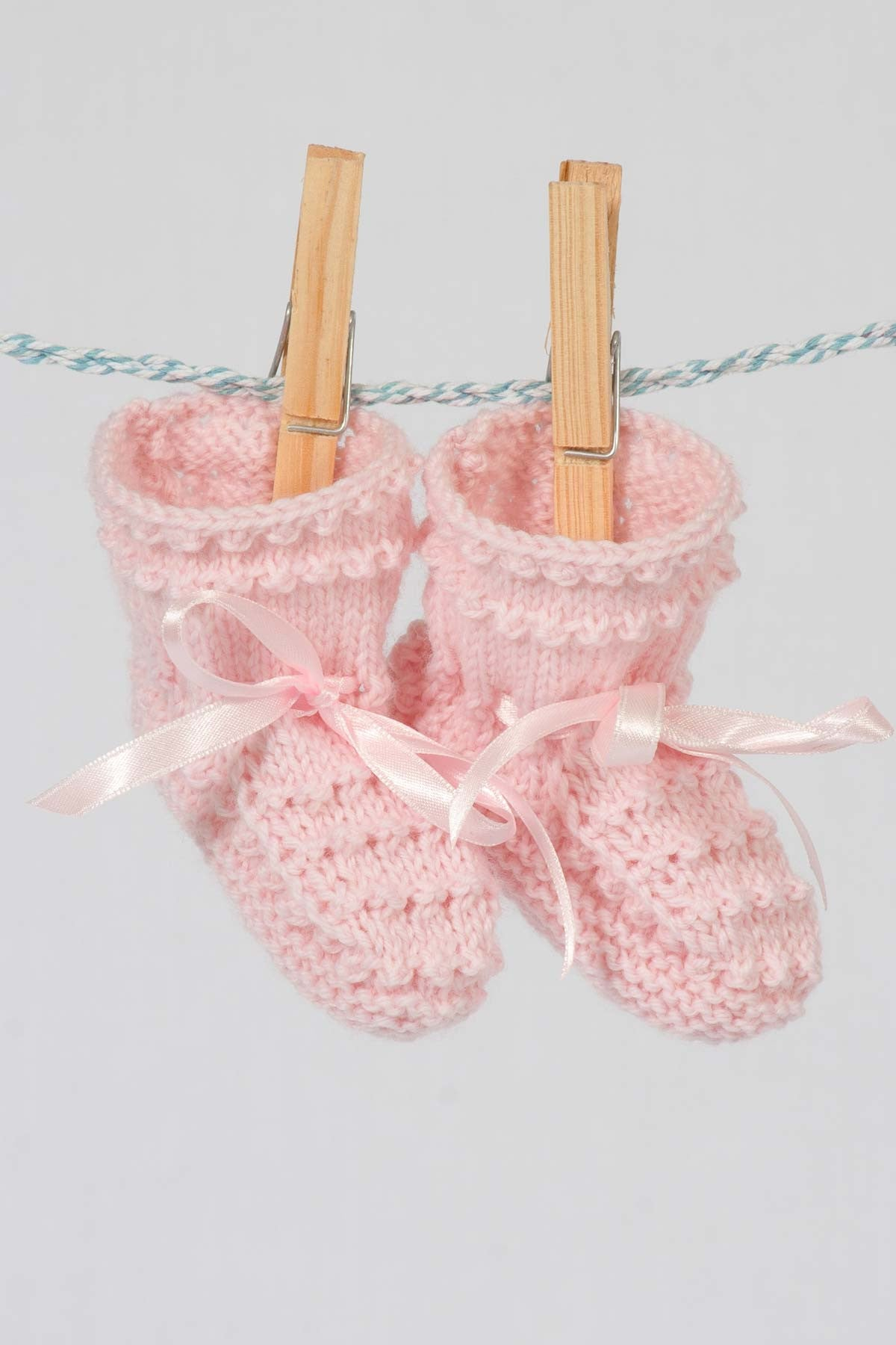 Buttons Boutique Babywear Merino Bobble Booties