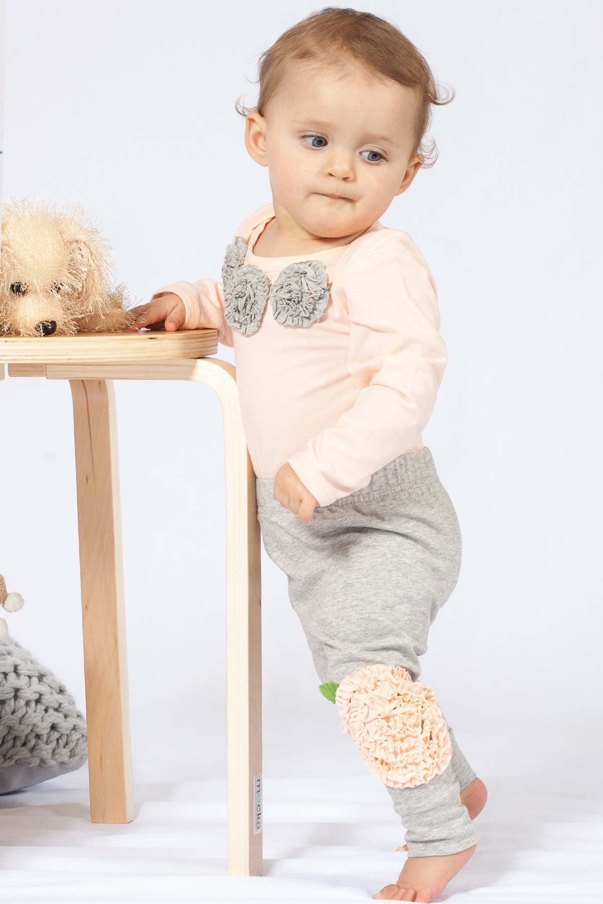 Buttons Boutique Babywear Rosette Tights