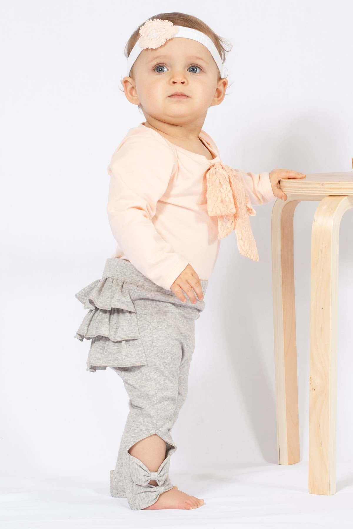Buttons Boutique Babywear Ruffle Me Up Tights