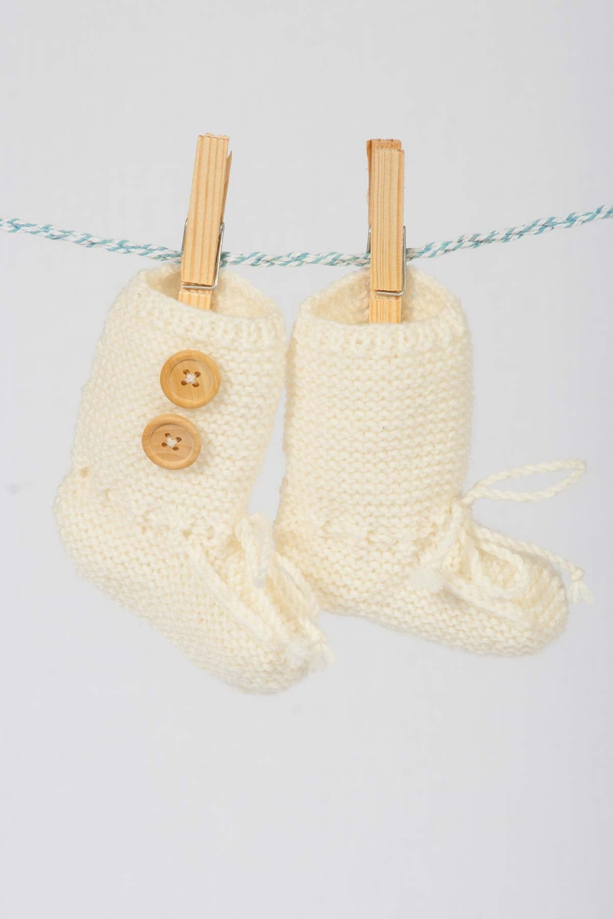 Buttons Boutique Babywear Merino Ugg Booties