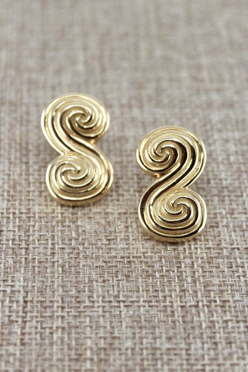 Spiro Earrings, Tiffany & Co, c1995