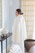 Cashmere and Mink Cape