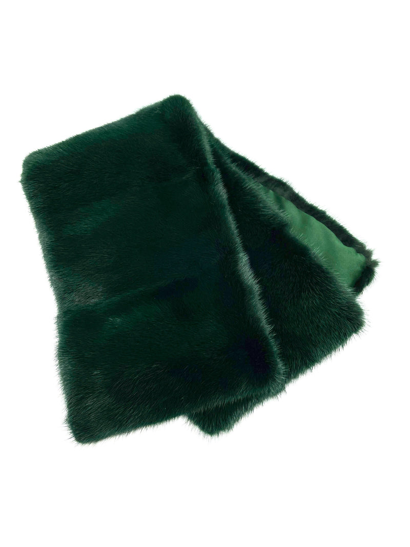 Mink Pull-through Scarf