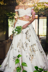 Off-White Lehenga Set