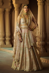 Blush Pink Gota Patti Lehenga Set