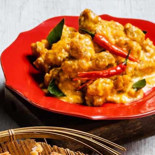 Salted Egg Chinese-Style Fried Chicken