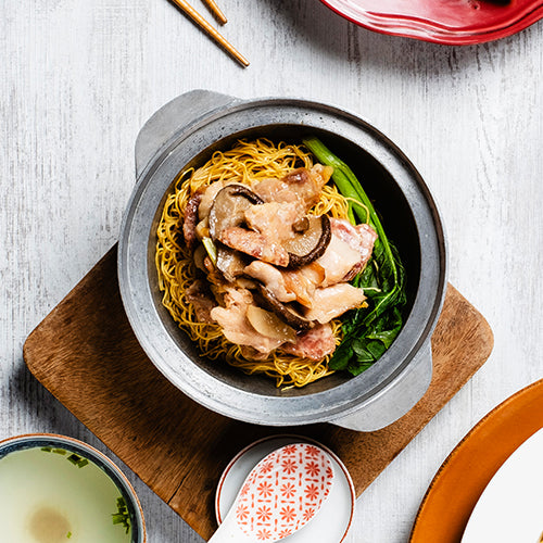 Claypot Chicken Noodles