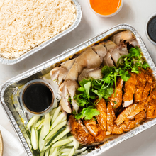 Load image into Gallery viewer, Signature Hainanese Chicken Platter