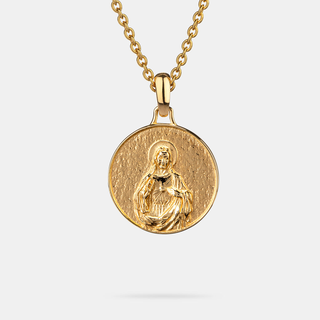 Jesus Piece in Gold