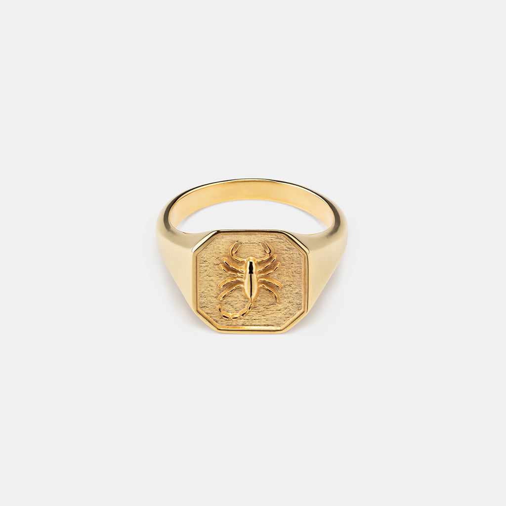 Scorpion Ring in Gold